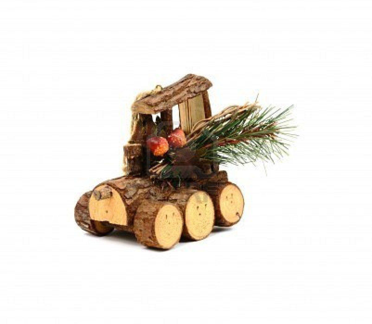 Rustic Christmas Tree ornament