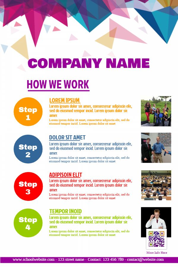Small Business Poster Flyer Social Media Design Idea Small