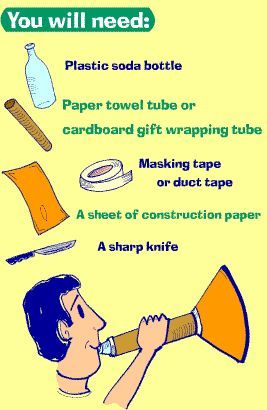 Make Your Own Trumpet At Home Paint Yourself Blue Call