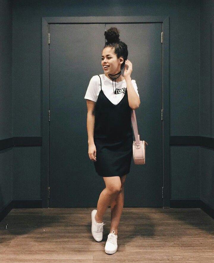 Vestido Com Camisa Por Baixo Outfits In 2019 Fashion