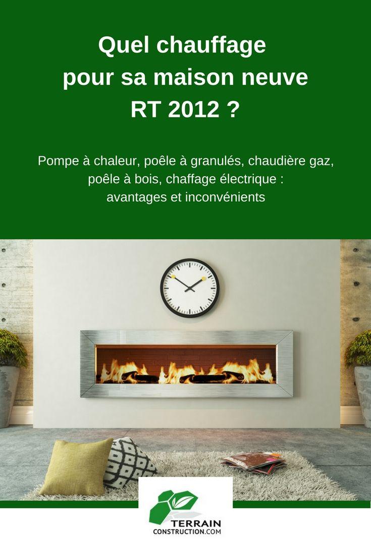Quel Chauffage Choisir Pour Sa Maison Neuve RT Pinterest - Quel chauffage choisir pour sa maison