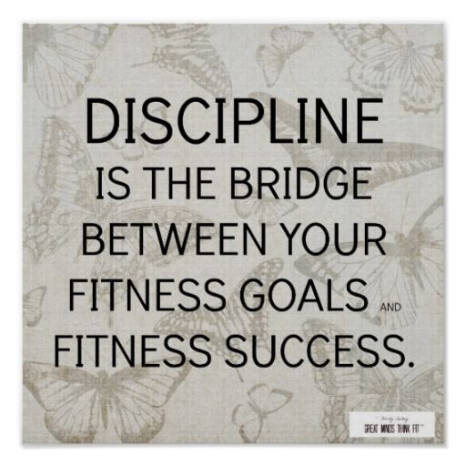 #Discipline Quote For Fitness Success