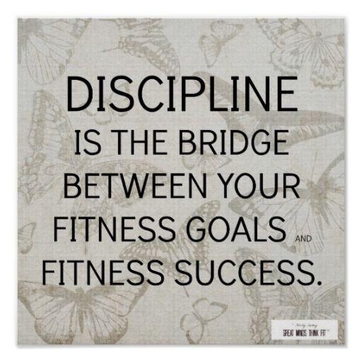 #Discipline Quote For Fitness Success
