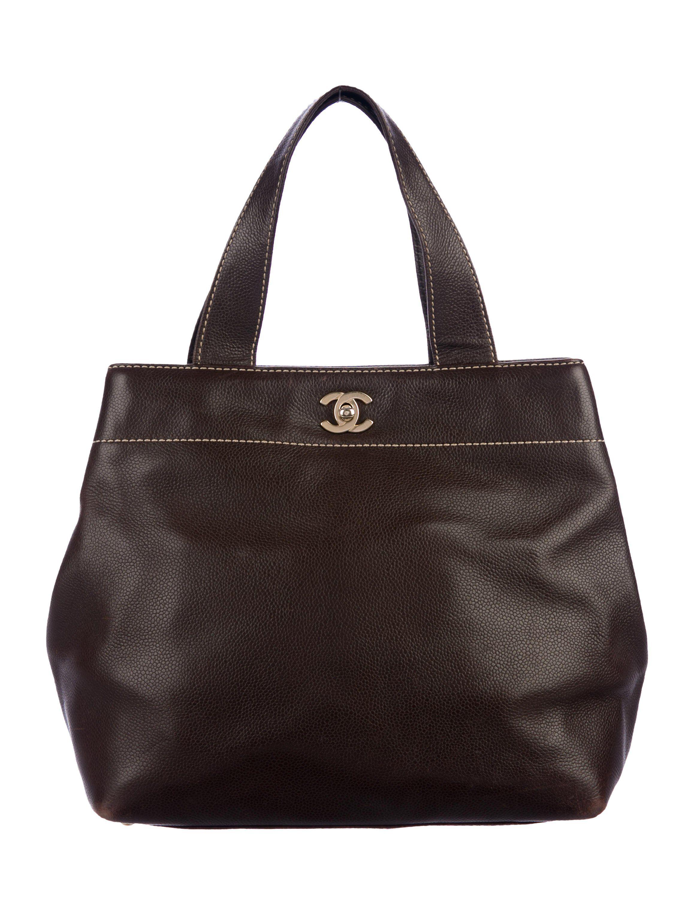 cc81381ee9b4 CC Surpique Tote in 2019   PRE-L❤VED HANDBAGS   Bags, Chanel, Handbags