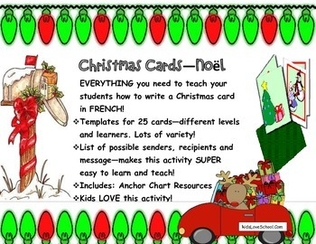 Christmas Cards Noel Everything To Make Christmas Cards In French Christmas Cards To Make Christmas Cards Noel