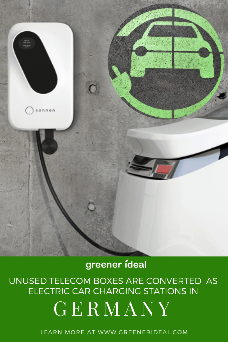 Germany To Convert Unused Telcom Boxes For Electric Car Charging Stations