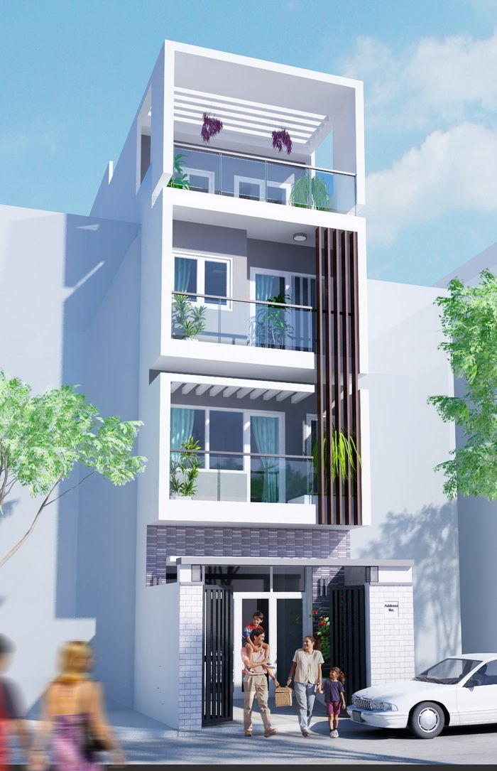 Modern Architecture House Front Design Front Elevation