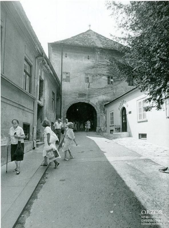 Kamenita Vrata 1986 Lokacija Gornji Grad Zagreb Croatia Gornji Grad