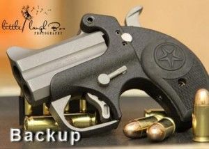 The Bond Arms Backup was developed as a special edition gun that is