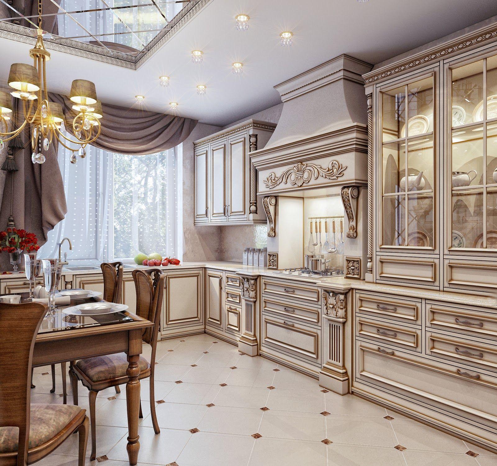 кухни в классическом стиле фото: 19 тыс изображений ...