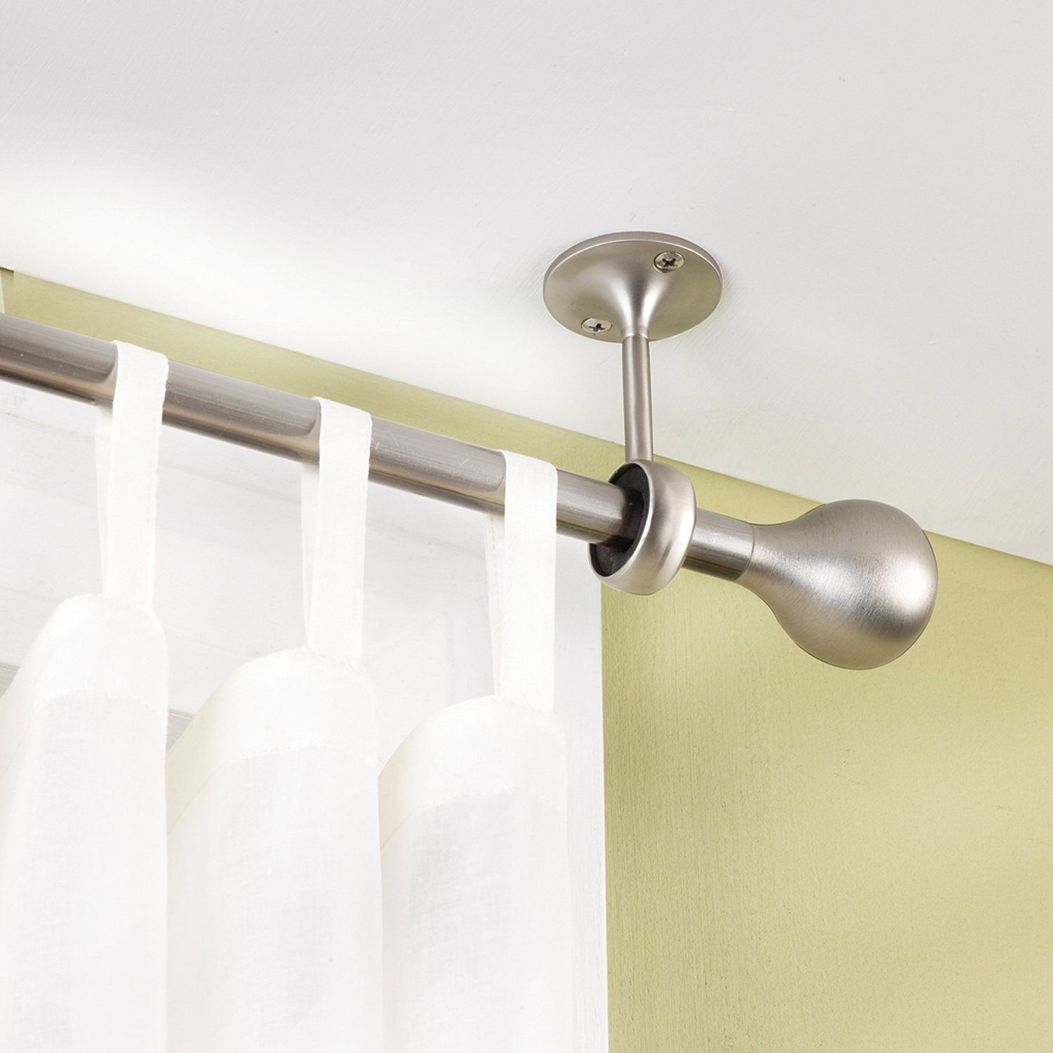 Window Curtain Rod Hooks Hanging Curtain Rods Ceiling Curtain