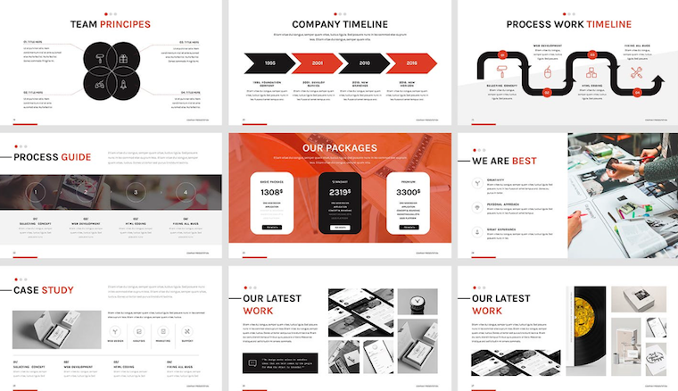 Smash Your Next Presentation With These 25 Creative Modern