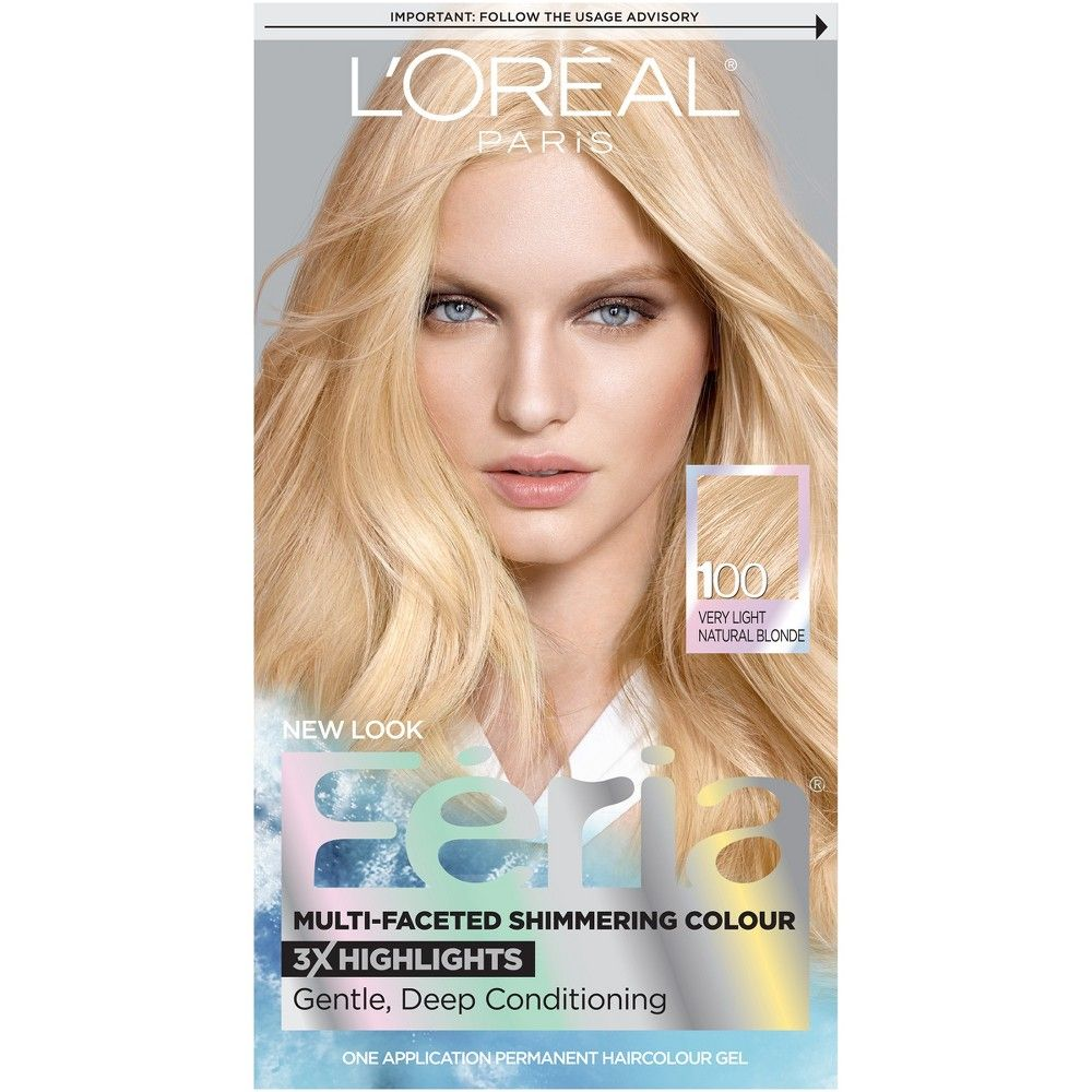 L'oreal Paris Feria Multi-Faceted Shimmering Color - 20 Natural Black - 1 Kit L'Oreal Paris Feria Multi-Faceted Shimmering Color - 20 Natural Black - 1 Kit Red Things l'oreal highlight color red