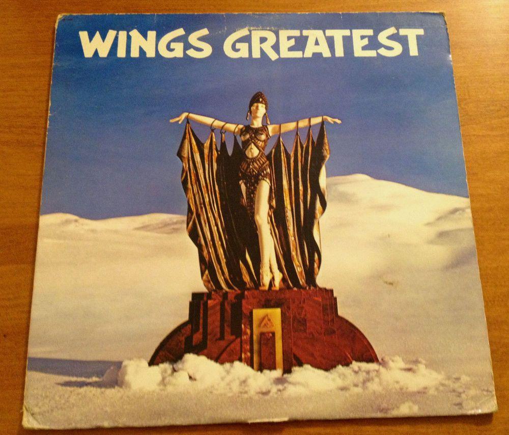 Wings Greatest Lp 1978 Capitol Vinyl Record Paul Mccartney The Beatles 1970seasylisteningeuropoppoprbsingersongwritersoftrock Paul Mccartney The Beatles Wings