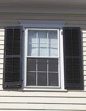 All About Exterior Window Shutters Wood Vinyl