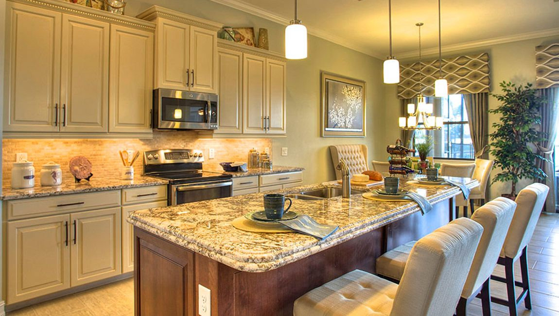 Love The Ogee Edged Granite Counter Tops  Fort Myers, FL #DRHorton  #FindYourHome