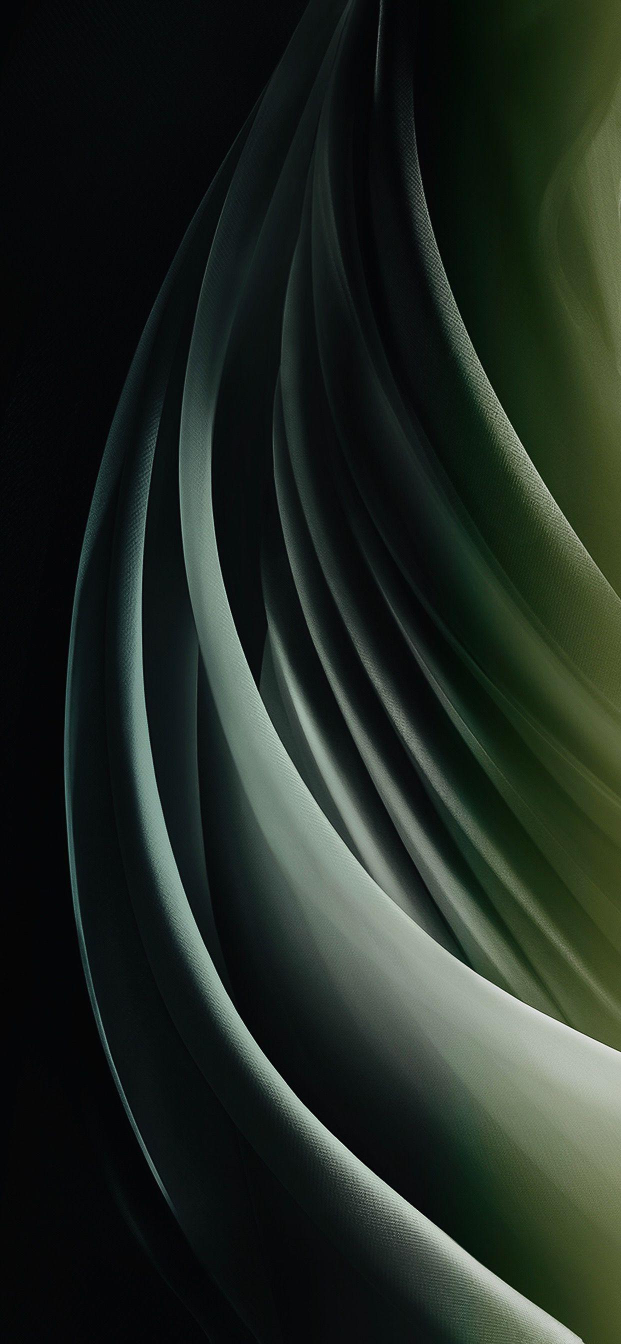 Ios14 Concept V8 Midnight Green Dark Galaxy Phone Wallpaper Abstract Wallpaper Backgrounds Cellphone Wallpaper