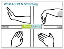 Wrist AROM and Stretching