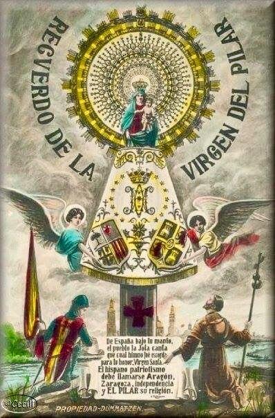 Pin De Pbro J Rodrigo Lopez Cepeda En Santos Imágenes Bellas Del Pilar Imagen Virgen Del Pilar Historia De La Virgen