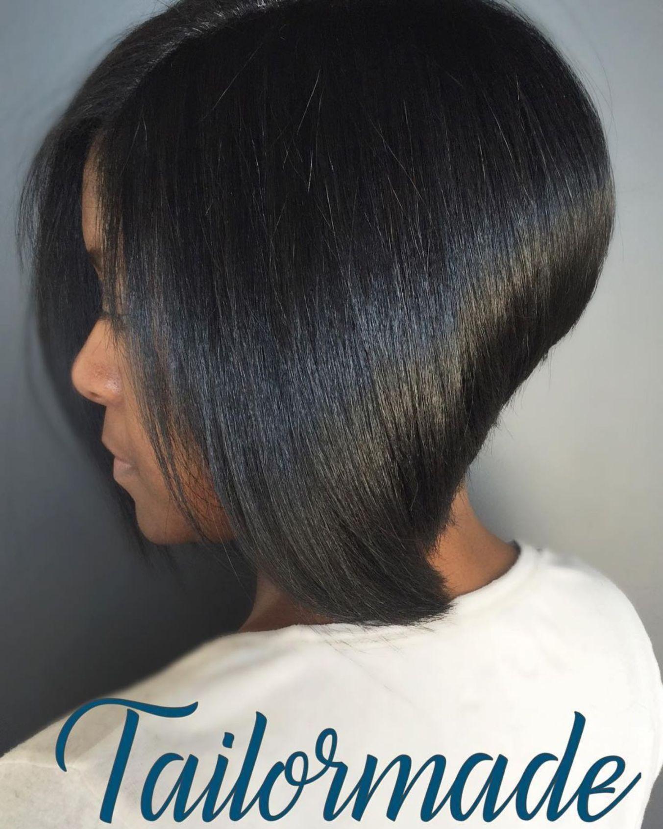 12 Showiest Bob Haircuts for Black Women en 12  Coupe de