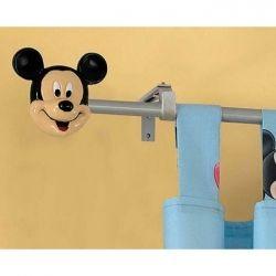 Bastone Tenda Winnie The Pooh.Mickey Finial Bastone Per Tende Topolino E Disney