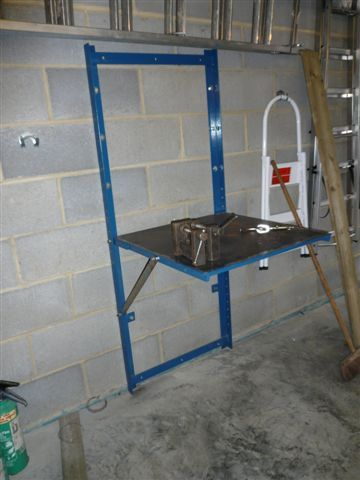 Fold Down Welding Bench First Welding Project Mig