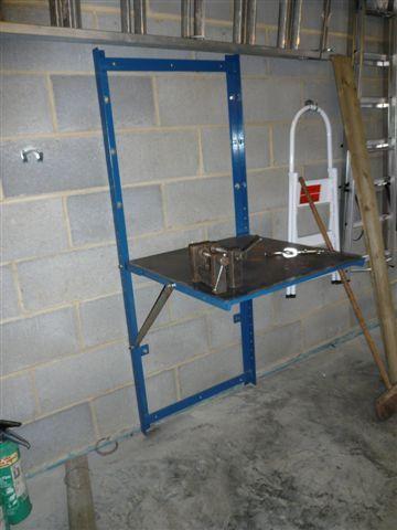Fold Down Welding Bench First Welding Project Welding Table