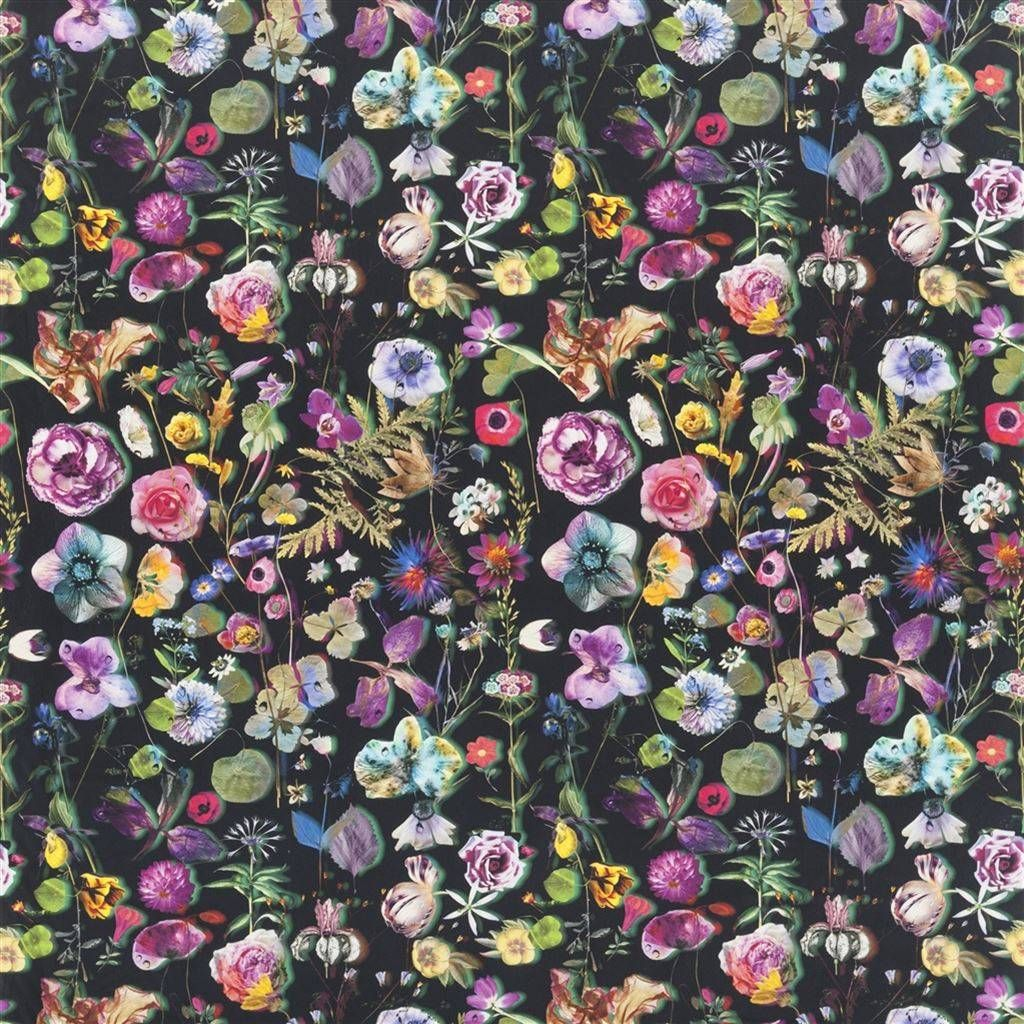 Christian Lacroix Herbarium Crepuscule Fabric FCL702301