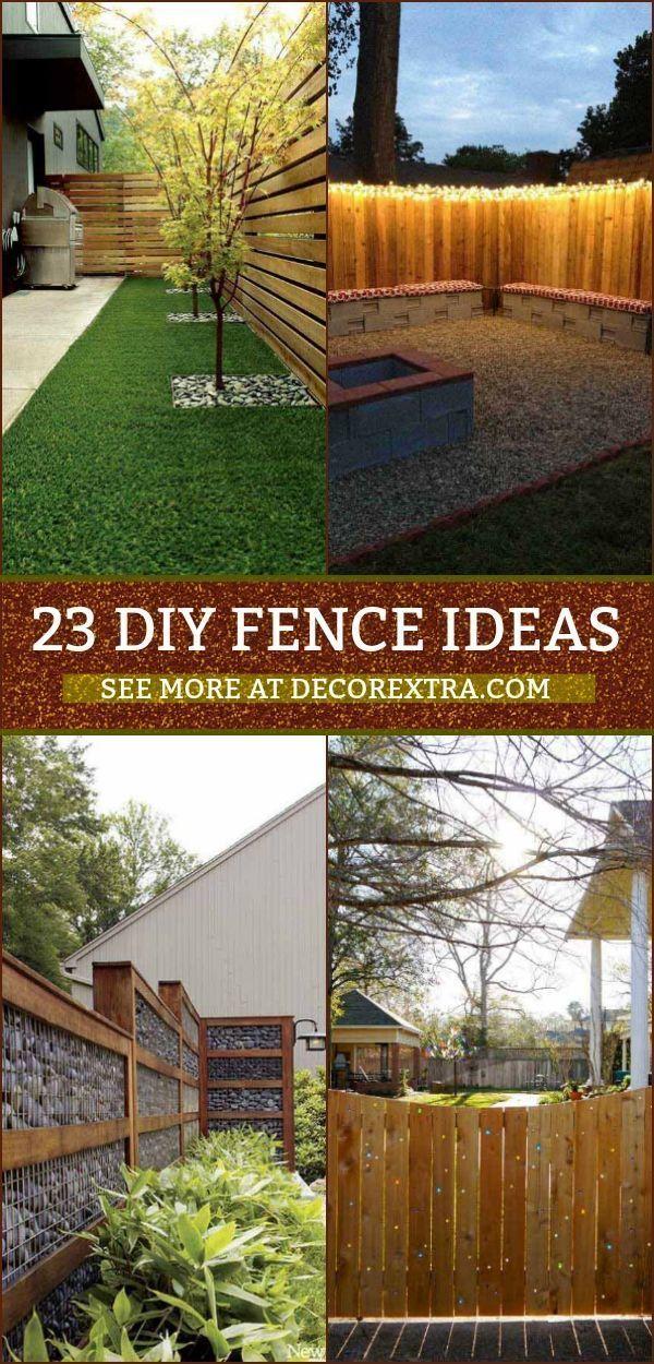 23+ Creative DIY Privacy Fence Design Ideas is part of Diy backyard fence, Backyard fences, Fence design, Privacy fence designs, Backyard design, Backyard diy projects - Discover best DIY fence ideas and creative fence designs!