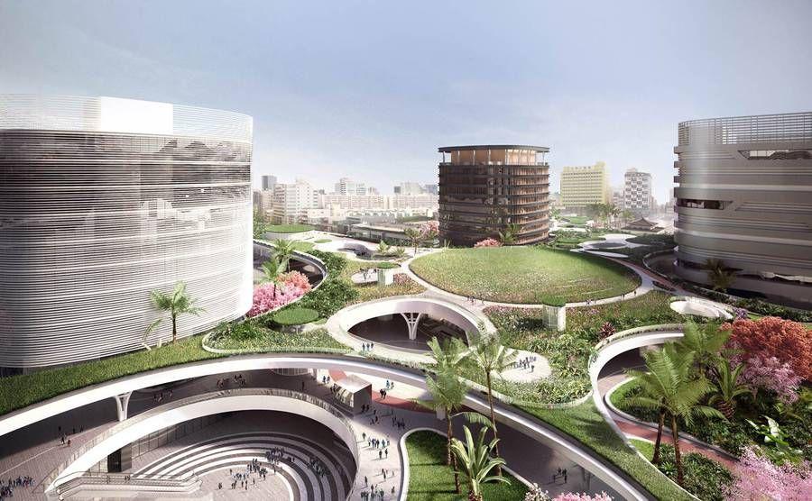 Stunning Transportation Hub Project in Taiwan – Fubiz Media