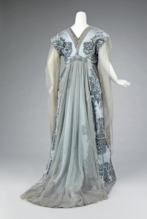 1910 Tea Gown, The House of Worth | Exquisite History of Fashion ...