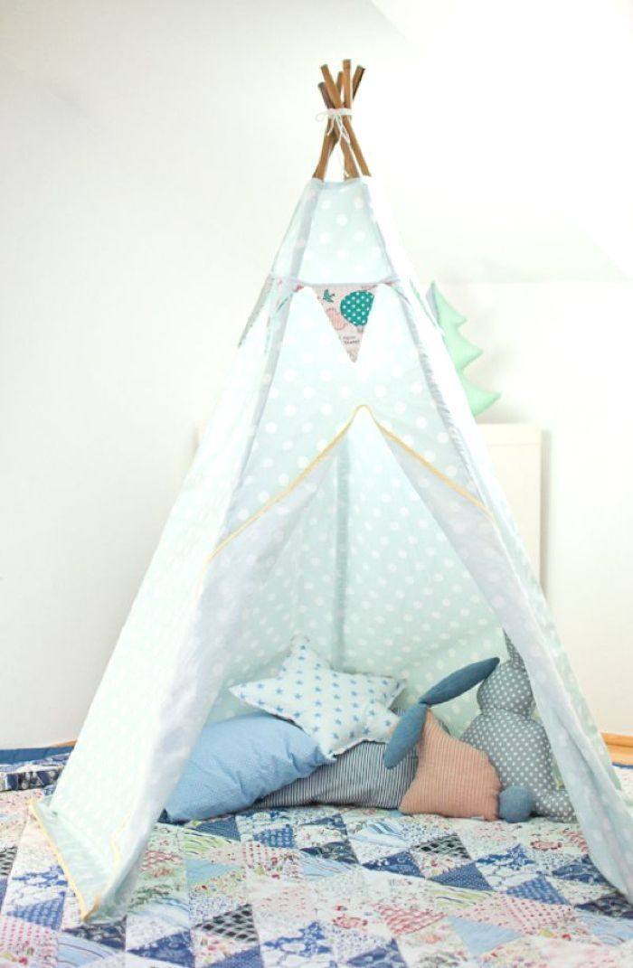 mon prochain diy le tipi enfant inspirations et tutos blog d co kids pinterest tipi. Black Bedroom Furniture Sets. Home Design Ideas