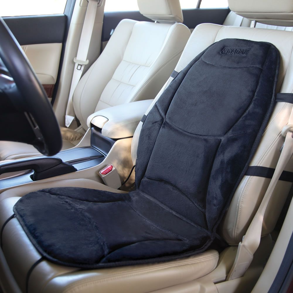 the best heated car seat this heated car seat cover was named the best by the hammacher. Black Bedroom Furniture Sets. Home Design Ideas