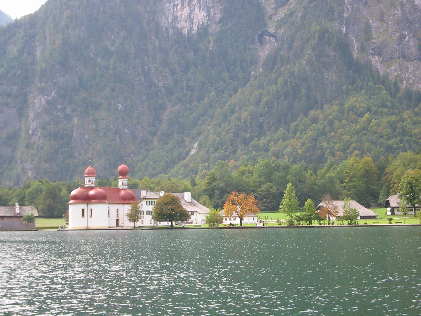 Pilgrimage Chapel of St. Bartholomew, Lake Konigsee, Germany