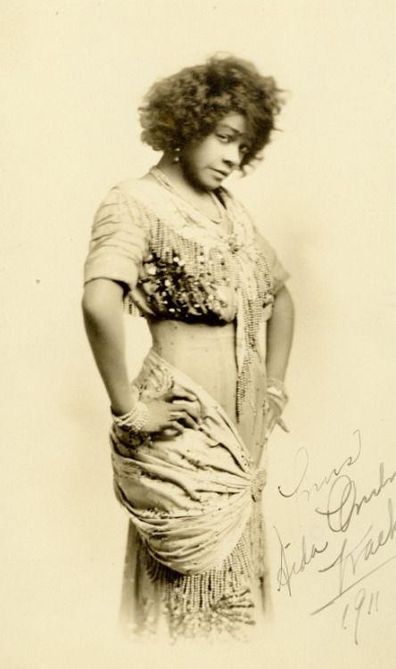 Black Vaudeville performer Aid...