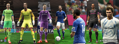 Everton FC 2018/19 kits by AbdoLGR Credit : AbdoLGR Download