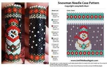 needle case patterns 30 different ones until we bead again beth murr rn ccrn bead artist. Black Bedroom Furniture Sets. Home Design Ideas