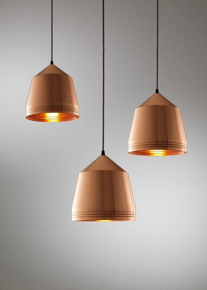 Kate Stokes Mr Cooper Copper Pendant The Emerging Designers The Emerging Designers Iluminacion Luces Negocios