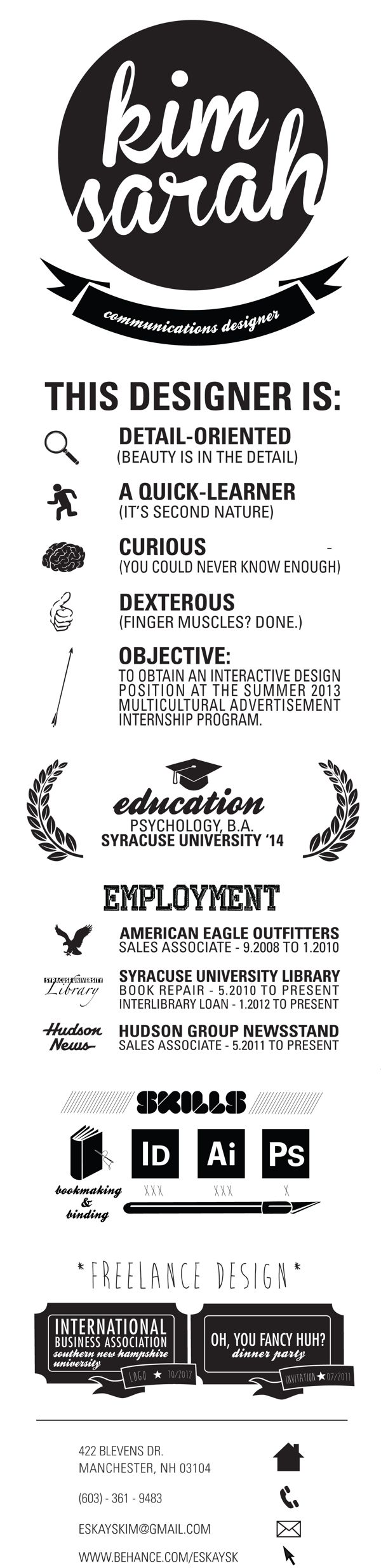 Want To Have Your Own Infographic Resume Go To Resume Template