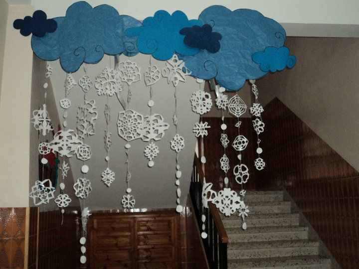 Decoracion aula invierno buscar con google escuela for Decoracion otono infantil