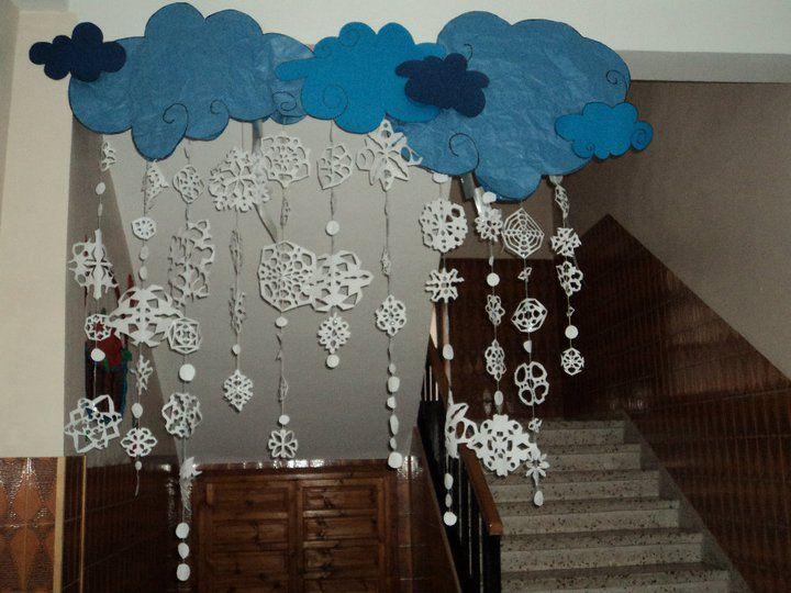 decoracion aula invierno buscar con google escuela