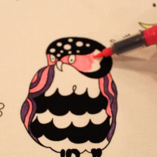 coloring on fabric - use Stained Sharpie Fabric Markers | Photos ...