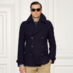 Caban en tweed de laine - Purple Label Tous les vêtements - Ralph Lauren  France fc8ebd0b1fb8