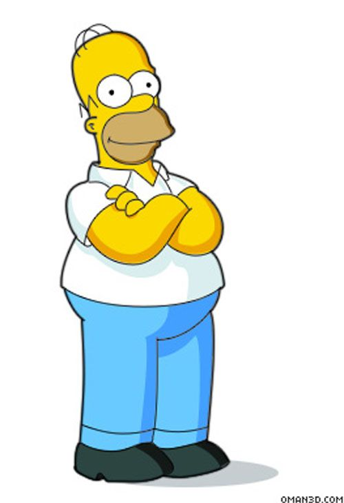 30 Amazing Techniques And Tutorials That Help You Become A Master Cartoonist Simpsons Characters Homer Simpson The Simpsons