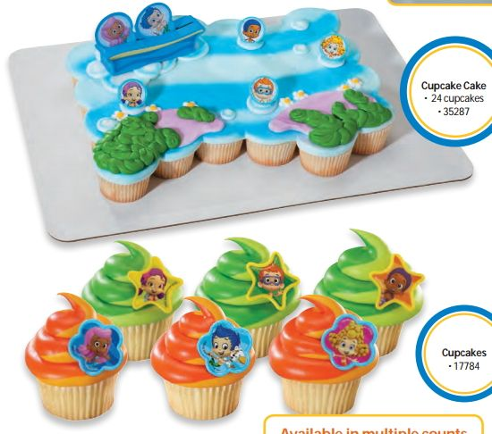 Cakes for Any Occasion Bubble guppies Guppy and Cake
