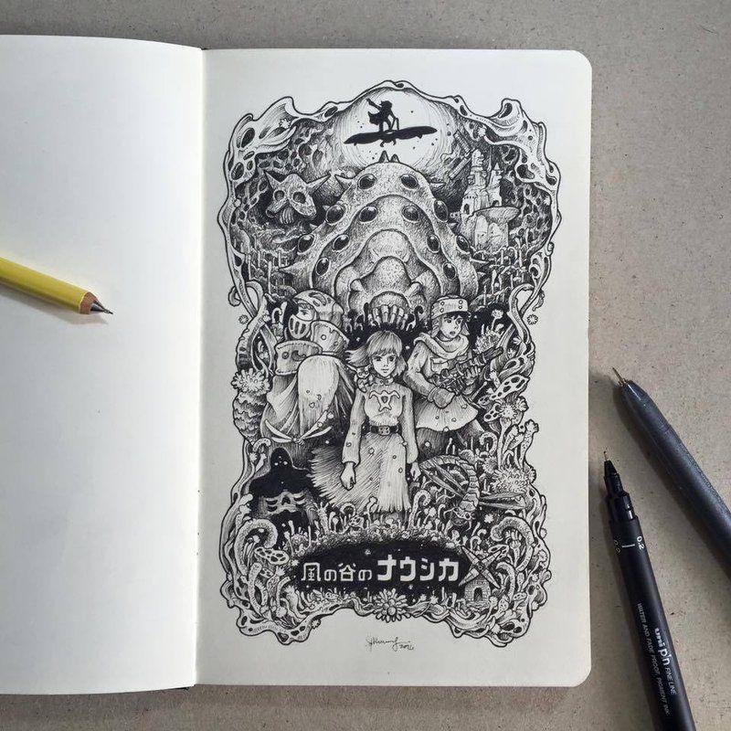 Deviantart Art Kaze No Tani Naushika 614227847