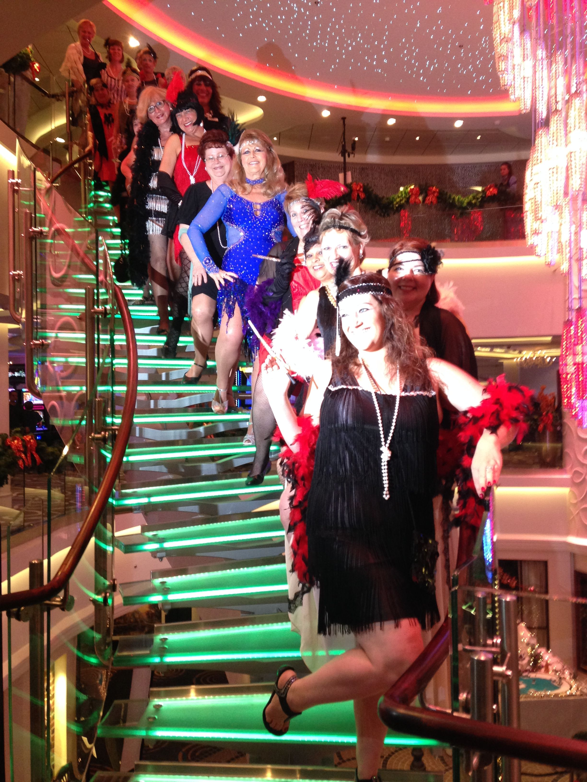 roaring 20s night on stis 20th annual new years eve party