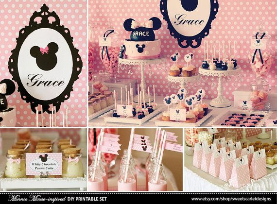 Birthday Party Ideas - Blog - MINNIE MOUSE ICE CREAM SHOP PARTY | Minnie mouse party/Mickey mouse party/Mickey mouse clubhouse party | Pinterest | Minnie ... & Birthday Party Ideas - Blog - MINNIE MOUSE ICE CREAM SHOP PARTY ...