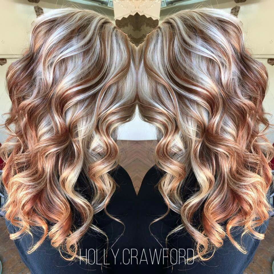 Copper and platinum  gorgeous color  Hair, Hair styles, Hair Color