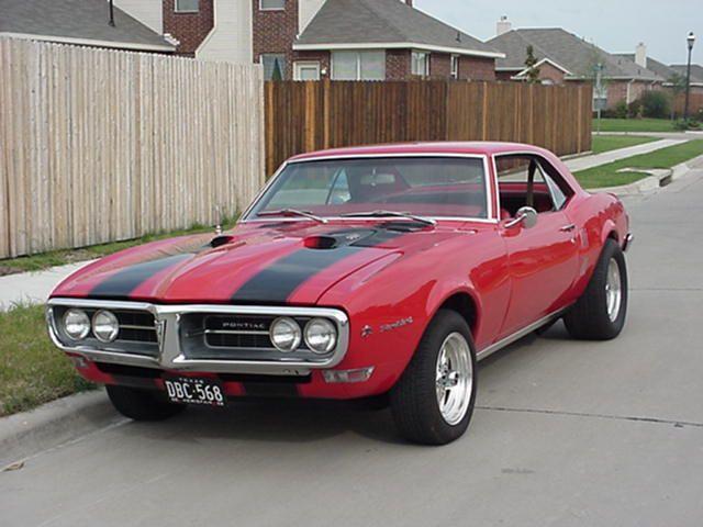 1967 Pontiac Firebird – Pictures